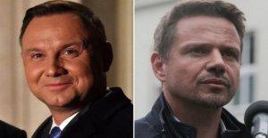 Los dos hombres luchando por el destino de Polonia