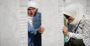 Los líderes, los sobrevivientes de la marca de 25 años desde la masacre de Srebrenica