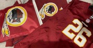 Los principales minoristas de la gota Washington Redskins productos