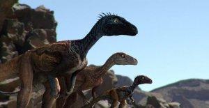 Los restos fosilizados de un bebé dinosaurio descubierto en Alaska puede alterar cómo se ven