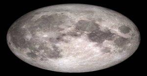 Luna descubrimiento: el Radar arroja nueva luz sobre el subsuelo lunar