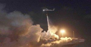 Marina plantea la lesión de muertos por el USS Bonhomme Richard blaze a 57, el fuego sigue ardiendo