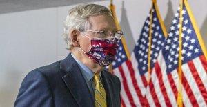 McConnell señales nuevo coronavirus proyecto de ley puede venir pronto, pero Senado caras batalla cuesta arriba