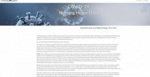 Medicare hogar de ancianos COVID sitio deja a los usuarios 'en la oscuridad'