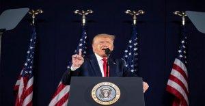 Medios de comunicación 'cruzado el Rubicón' flagrantes mentiras sobre el Triunfo del Monte Rushmore discurso, columnista del wall street journal dice