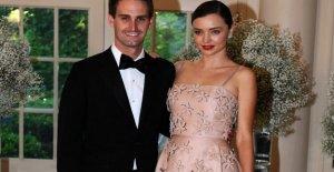 Miranda Kerr marido, Evan Spiegel, la alaba muy diferentes co-crianza de los hijos relación con Orlando Bloom