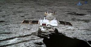 Misterioso, sustancia gelatinosa descubierto en el lado lejano de la luna ha sido identificado