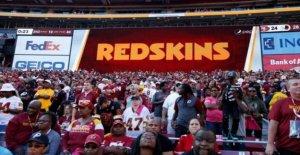 NFL Redskins a gota controvertido nombre y el logotipo de