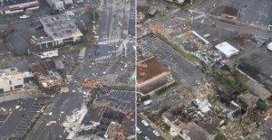 NOS llega a los 10 mil millones de dólares desastre meteorológico a fines de junio de 2020