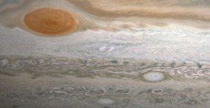 Nueva tormenta descubierto en Júpiter, 'Clyde de la Mancha'