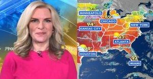Ola de calor abrasa de la Costa del Golfo a las Planicies del sur, tormentas severas probable en el medio oeste
