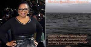 Oprah, Lionsgate para ayudar a adaptar El 1619 Proyecto para cine, TV