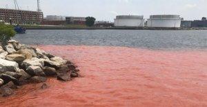 'Pluma' se extiende en el Puerto Interior de Baltimore; el suministro de agua principal freno a la culpa