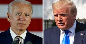 Pro-Biden super PAC utiliza el Triunfo del coronavirus comentarios en contra de él