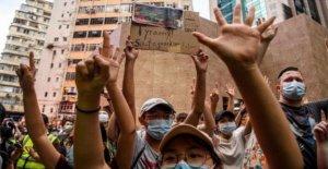 Pro-democracia libros sacados de Hong Kong bibliotecas