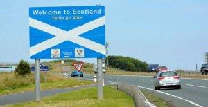 Puede Escocia, cerca de la frontera con Inglaterra?