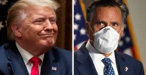 Romney acusa Triunfo de 'histórico de la corrupción después de que Roger Piedra de conmutación