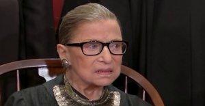 Ruth Bader Ginsburg admitido en el hospital para el tratamiento de una posible infección,' Tribunal Supremo dice