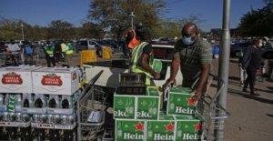 Sudáfrica la prohibición de alcohol de nuevo para combatir Covid-19