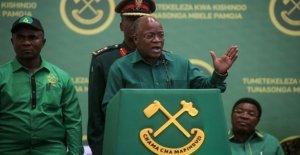 Tanzania partido gobernante nombra presidente a correr de nuevo