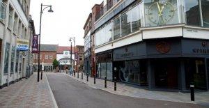 Toda la ciudad de bloqueo de seguridad en la ciudad de Leicester no justificado