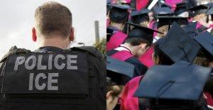 Trump administración deroga la regla de los estudiantes extranjeros en medio de la presión de los colegios de