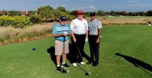 Trump defiende viajes a campos de golf, dice que es su ejercicio y se la juega 'muy rápido'