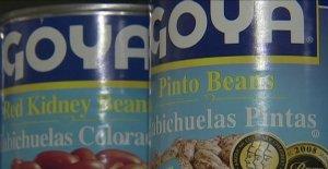 Trump dice Goya boicot salió por la culata: 'la Gente está comprando como loco!'