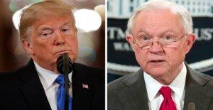 Trump es un factor importante en las primarias del martes pasado, como ex-AG Sesiones de lucha por la vida política en Alabama