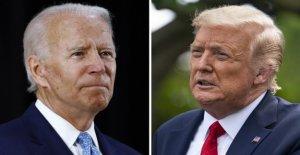 Trump se desquita de Biden en Jardín de Rosas: 'nunca ha habido un tiempo cuando los dos candidatos eran tan diferentes