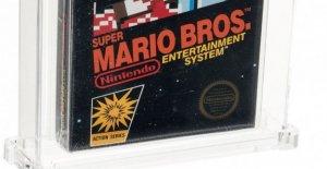 Vintage Super Mario Bros, juego de video se vende por $114,000