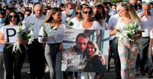 Viuda condena el brutal la muerte de controlador golpeado más de máscaras