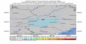 5.1 terremoto de magnitud sacude partes de carolina del norte, Georgia: informe