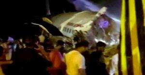 Air India accidentes de avión en el aterrizaje con casi 200 de a bordo