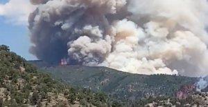 Amenaza de mal tiempo para las Llanuras de calor apretones país, combustibles amenaza de incendio forestal en el Oeste