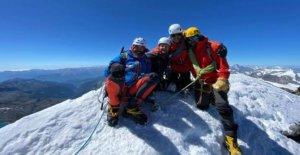 Amputado soldado hace historia en Matterhorn