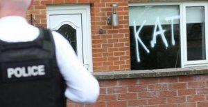 Belfast graffiti tratado como un crimen de odio sectario