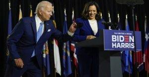 Biden-Harris billete pretende chispa de entusiasmo en la convención Demócrata después de la baja de la clave de la campaña