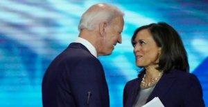 Biden VICEPRESIDENTE de recogida de Harris promovido grupo que puso a la fianza de los presuntos delincuentes violentos