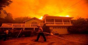 California bomberos miedo a la ola de calor, los vientos van a intensificar masiva de LA blaze