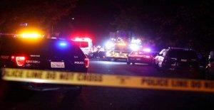 California cop trae de verano 'la Navidad' a la familia de los damnificados por incendio