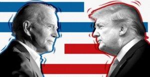 Cómo es Donald Trump haciendo en las urnas?