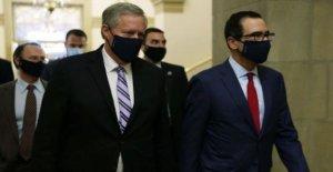 Congreso de última hora de las conversaciones sobre el virus de estímulo fallar