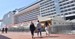 Crucero por el mediterráneo velas después de cinco meses de pausa