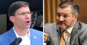 Cruz acusa Pentágono de la 'cultura de la hostilidad hacia la religión', después de que Christian de la Fuerza Aérea del veterinario hablar cancelado