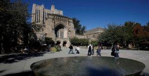 El DEPARTAMENTO de justicia acusa a la universidad de Yale de discriminar contra los Asiático-Americanos, los solicitantes blancos