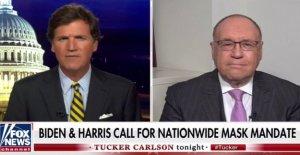 El Dr. Siegel dice Tucker Carlson  no hay ciencia detrás de Biden máscara de mandato