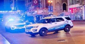 El centro de Chicago, en virtud de bloqueo de seguridad en la raíz de los saqueos, disturbios violentos