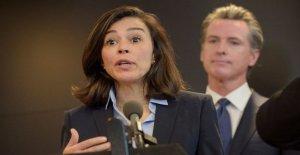 El gobernador da algunos detalles en la parte superior de California oficial de salida