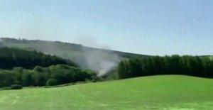 Escocia descarrilamiento de un tren causas 'de lesiones graves, los informes dicen